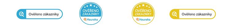 Heureka ikony - certifikát