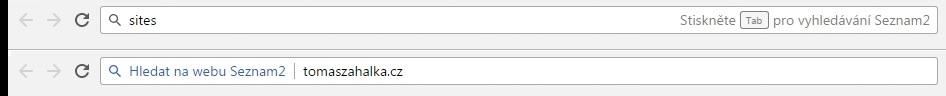 Jak aktivovat nefunkční operátor site pro Seznam! 4