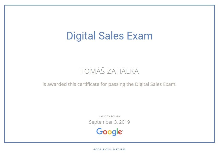 Digital Sales Exam
