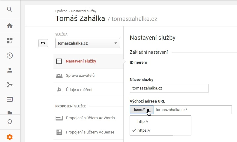 Co nastavit po přechodu z HTTP na HTTPS? 1