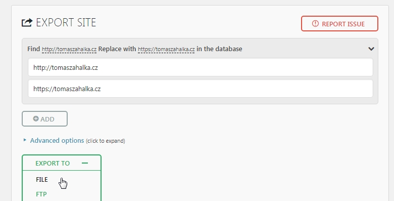 WEDOS - Návod jak přejít zdarma na HTTPS s Let's Encrypt certifikátem u Wordpressu. 7