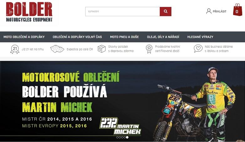 Rozhovor s Lukášem Petříkem - Jaké USP má Budějcký motorkářský e-shop Bolder? 2