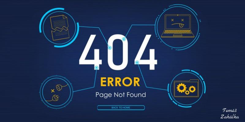 Co je chyba 404
