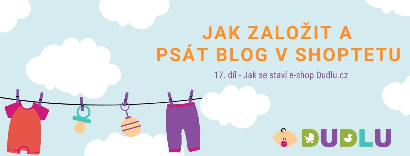 Jak psát a založit blog v Shoptetu