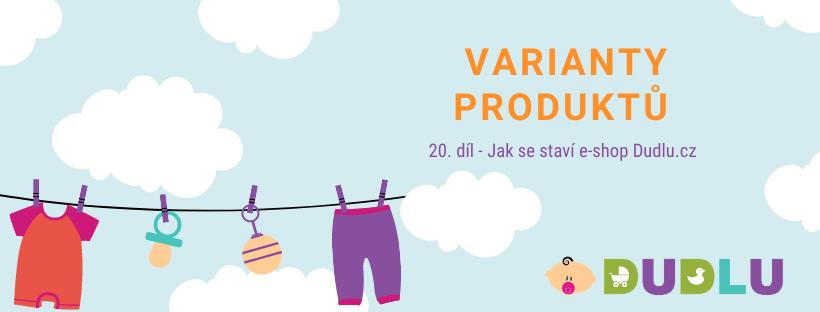 Varianty produktů