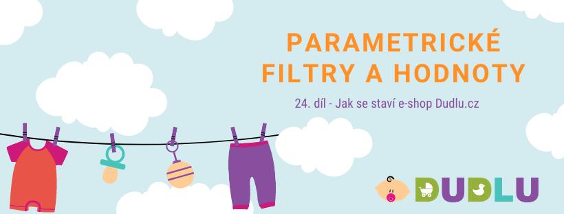 Parametrické filtry - Filtrace e-shopu Shoptet